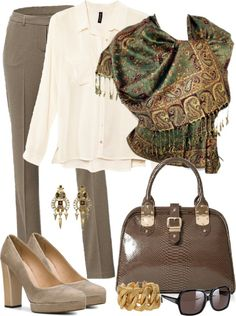 """""""Accessories are the Key"""" by fiftynotfrumpy on Polyvore"""