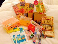 Stock up my art & craft in Osaka :)