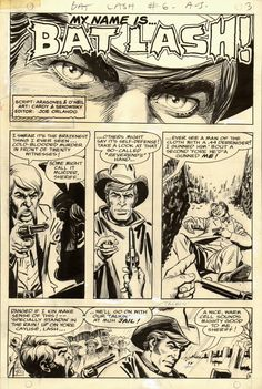 BAT LASH #6 PAGE 3 -m Mike Sekowsy pencils and Nick Cardy inks