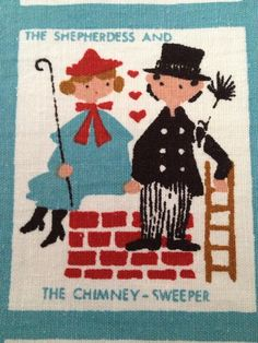RESERVED Hans Christian Anderson wall hanging   by NWMonkeyGirl