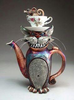 Alice in Wonderland Grafton Pottery