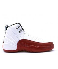 b48c1c956ad8 Air Jordan 12 Retro (GS) White Black Varsity Red