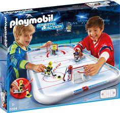 Playmobil- Eishockey- Arena - Ratgeberspiel