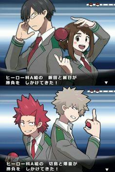 Boku no Hero Academia || Pokemon, #mha