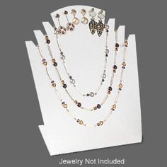 Do it yourself jewelry displays photos and instructions jewelry display necklace and earring acrylic clear with frosted finish 9x7x3 inches jewelry displaysacrylics solutioingenieria Images