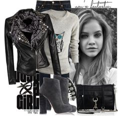 """just a girl"" by cjfdesign on Polyvore"