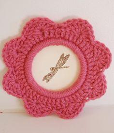 Crochet Photo Frame Free Pattern Ideas
