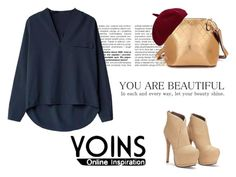 """Yoins"" by iknewherwhen on Polyvore featuring women's clothing, women's fashion, women, female, woman, misses and juniors"