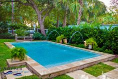 Tiny Pools for Small Backyards   Hot tubs and small pools