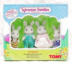 The Originals Babblebrook Family Rabbits Bunnies TOMY: Bunnies Tomy