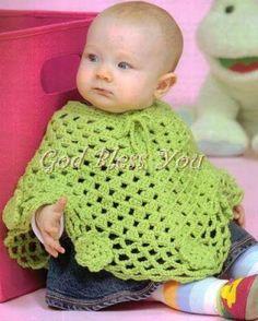 Easy to crochet poncho / poncho en crochet facil - YouTube