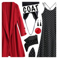 """Go Bold: Statement Coats"" by pokadoll ❤ liked on Polyvore featuring Étoile Isabel Marant"