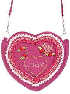 Herztasche Madl (pink) - Krüger Madl