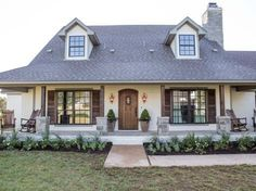 fixer upper curb appeal