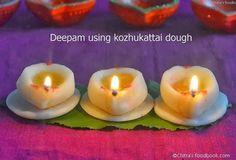 Karthigai deepam http://www.chitrasfoodbook.com/2013/11/kozhukattai-karthigai-deepam-recipes.html