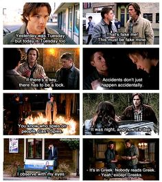 The things I learned from Supernatural