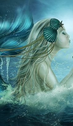 """Like a mermaid in sea-weed, she dreams awake, trembling in her soft and chilly nest.""   ― John Keats"