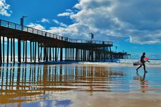 There's a destination on California's Central Coast with everything that a wine tourist looking for classic California could ask for. The destination is Pismo Beach. Wine Tourism, Thing 1, Pismo Beach, Central Coast, Beach Town, San Luis Obispo, Pacific Ocean, Wine Country, Beautiful Beaches