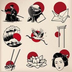 Find Japanese Tradition Style Illustration stock images in HD and millions of other royalty-free stock photos, illustrations and vectors in the Shutterstock collection. Kritzelei Tattoo, Tattoo Drawings, Art Drawings, Lion Tattoo, Tattoo Quotes, Tattoo Fonts, Tattoo Forearm, Samoan Tattoo, Tiger Tattoo