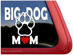 Car Sticker, Big Dog