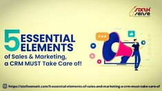 Essential Elements of Sales & Marketing that CRM must Take Care! Marketing Process, Sales And Marketing, Consulting Firms, Essential Elements, Take Care, Blogging, Management, Essentials, Success