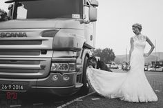 bruidsfotografie, bruiloft, wedding, weddingphotography, photography, weddingshoot, idea, shoot, photo, fotografie, dayofmylife, fun, trucker, vrachtwagen