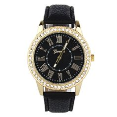 Creative Luxury Watch Women Quartz Watch Rhinestone Leather Band  Wrist Watches bayan kol saati montre femme #Affiliate