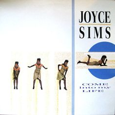 Joyce Sims ‎- Come Into My Life GER 1988 Lp vg++