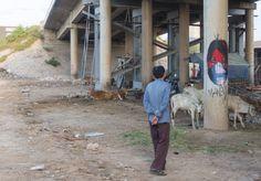 Upper Playground | David Choe Mangchi Tribute in Phnom Penh, Cambodia
