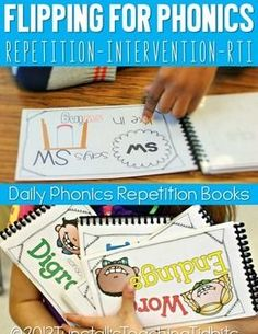These sound spelling card flip books are perfect for phonics, spelling, or guided reading. Use them for teaching or review!