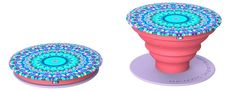 Amazon.com: PopSockets: Expanding Phone Stand and Grip - Works with all Smartphones Including iPhone and Galaxy (Single PopSocket, Arabesque-Pink-Purple): Cell Phones & Accessories