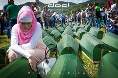 doc! photo magazine presents:  Michael Biach (doc! #9) - SREBRENICA - TO GIVE THEM THEIR NAMES BACK @ doc! #27/28 (pp. 71-89)