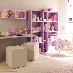 Kids room ideas – Home Decor Designs Small Room Bedroom, Small Rooms, Room Decor Bedroom, Diy Room Decor, Home Decor, Ikea Girls Bedroom, Girls Bedroom Storage, Bedroom Ideas, Design Room