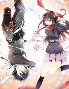 yato and hiyori from noragami #anime