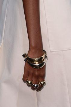 Spotlight: The Best Jewelry From New York Fashion Week  - ELLE.com. Rag and Bone