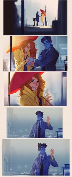 I'm in love<<<this is so cute!  (Is it bad that it made me think of Feyre and Rhys?)
