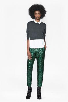 omg I NEED! Sirius Sequinned Trousers