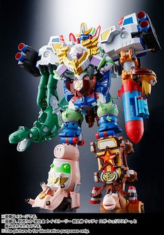 Chogokin Toy Story Combined Buzz The Space Ranger Robo : SHFiguarts.com
