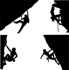 rock climbing scenes