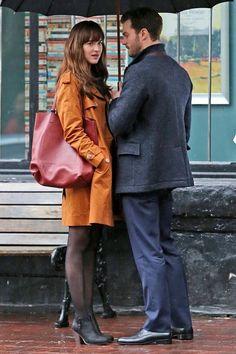 Fifty Shades of Grey - Darker Film Set!  #Fiftyshadesdarker #darker #set #jamiedornan #dakotajohnson