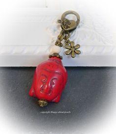 Buddha Anhänger von Happy-about-Pearls Trendschmuck & Accessoires auf DaWanda.com