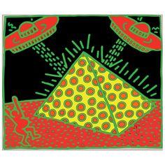 HARING - Fertility II 60x50 cm #artprints #interior #design #art #print #iloveart #followart  Scopri Descrizione e Prezzo http://www.artopweb.com/categorie/arte-moderna/EC21659