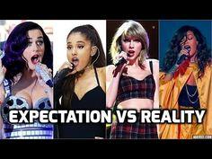 Female Singers : Expectation vs Reality (Studio vs Live)
