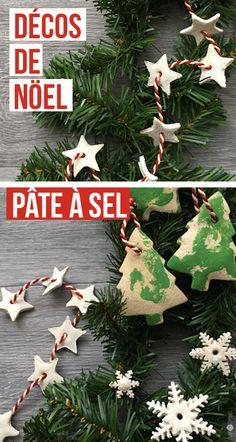 Décorations et guirlandes de Noël en mode zéro-déchet et naturels à réaliser en famille, avec tes enfants, ou tout simplement entre amis. Quelques idées de décos en pâte à sel facile faire chez toi, pas besoin d'être une pro de la déco !