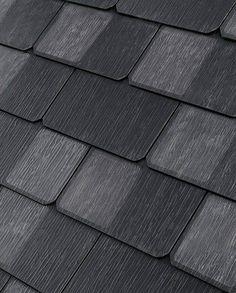 Tesla Solar Roof Tiles are changing the game. The products, a result of Tesla& acquisition of SolarCity, are the first truly tasteful solar roofing. Solar Energy Panels, Best Solar Panels, Home Solar Panels, Solar Shingles, Design Garage, Solar Roof Tiles, Tesla Roof Tiles, Solar Panel Kits, Solar House