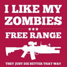 free range zombies just die better