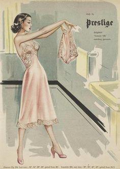 mid-centurylove:  Summer Silk, 1952