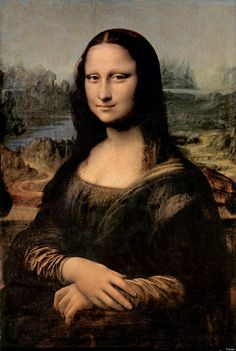 "Leonardo da Vinci's ""Mona Lisa (La Gioconda)"" (1503-1506) - ""Leonardo's skill in creating the ambiguous expression, the subtle modeling of the forms, and the illusion of atmosphere are qualities that ..."