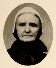 Portrait d'une paysanne des environs de La Clayette