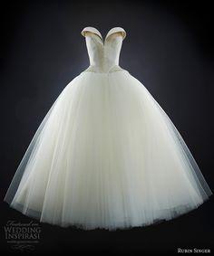 rubin singer wedding dresses 2014 natasha bridal strapless ball gown